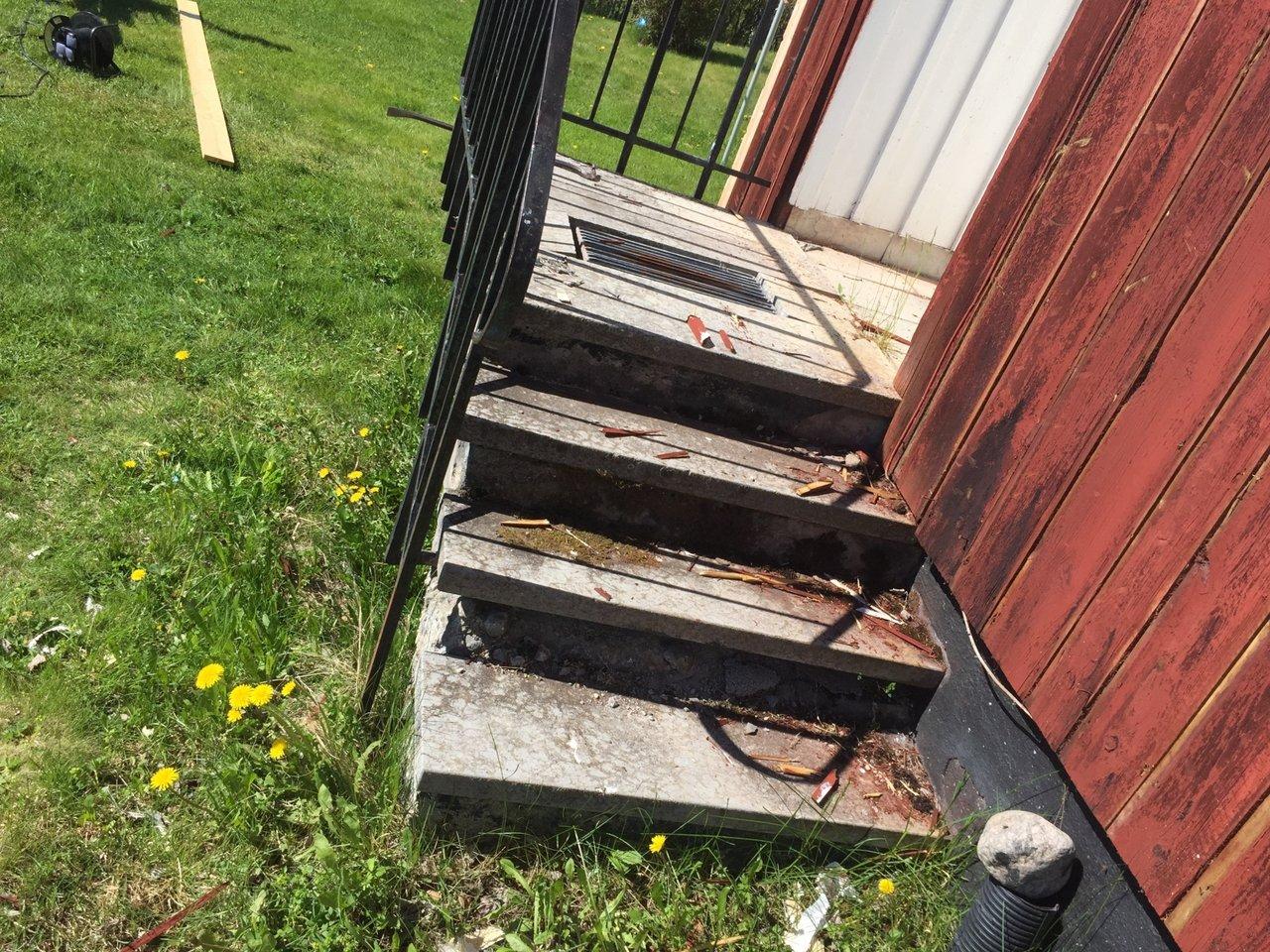 ta bort trappa
