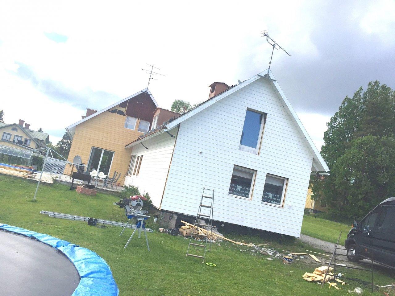 Måla huset