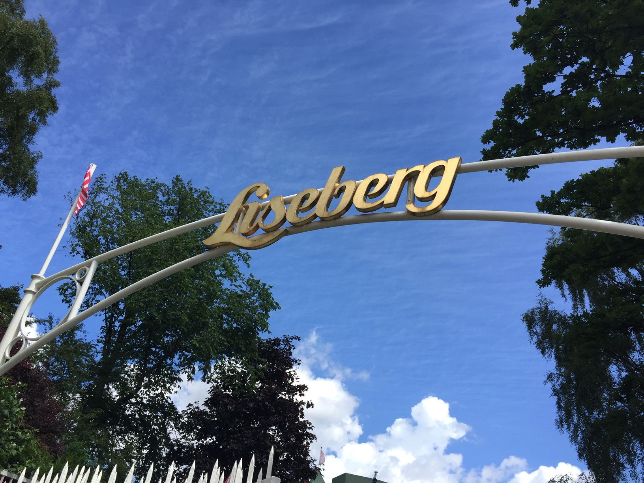 Liseberg skylt