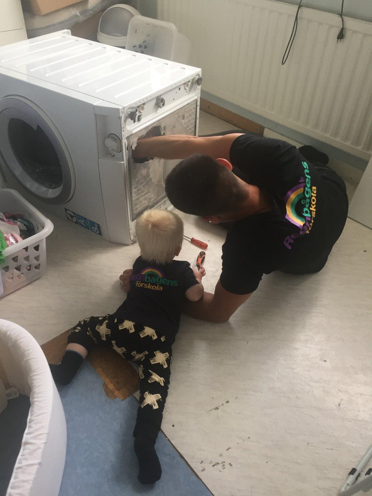 laga tvättmaskinen