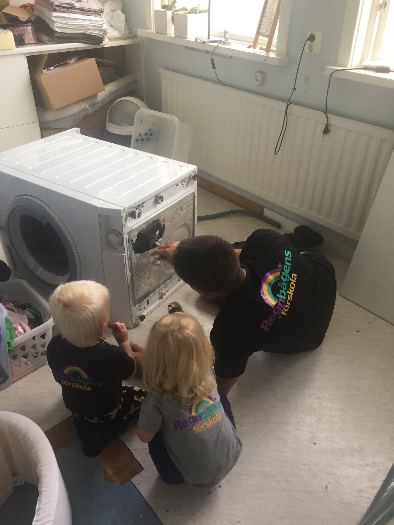 renovera tvättstugan