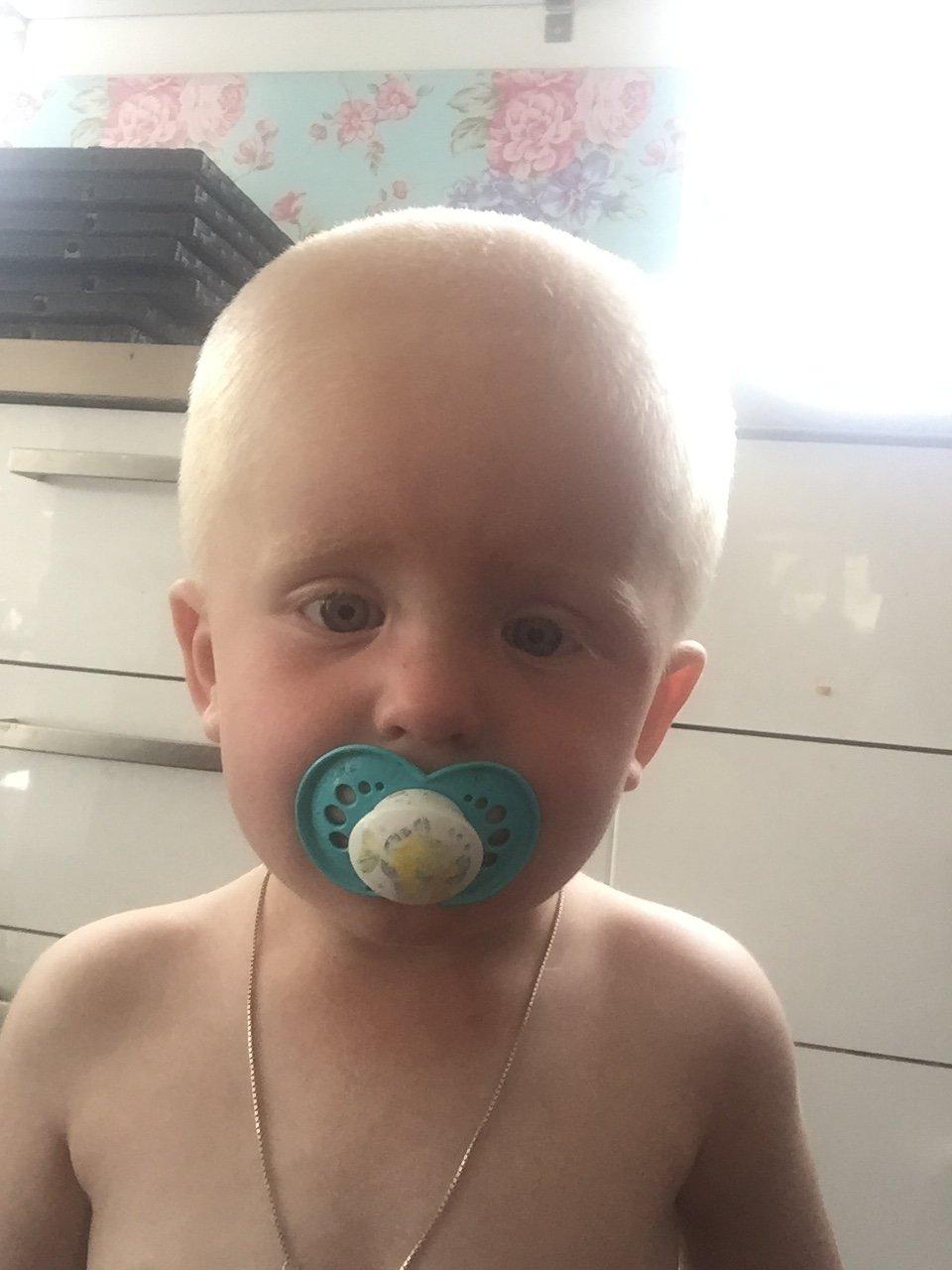 klippa barn själv