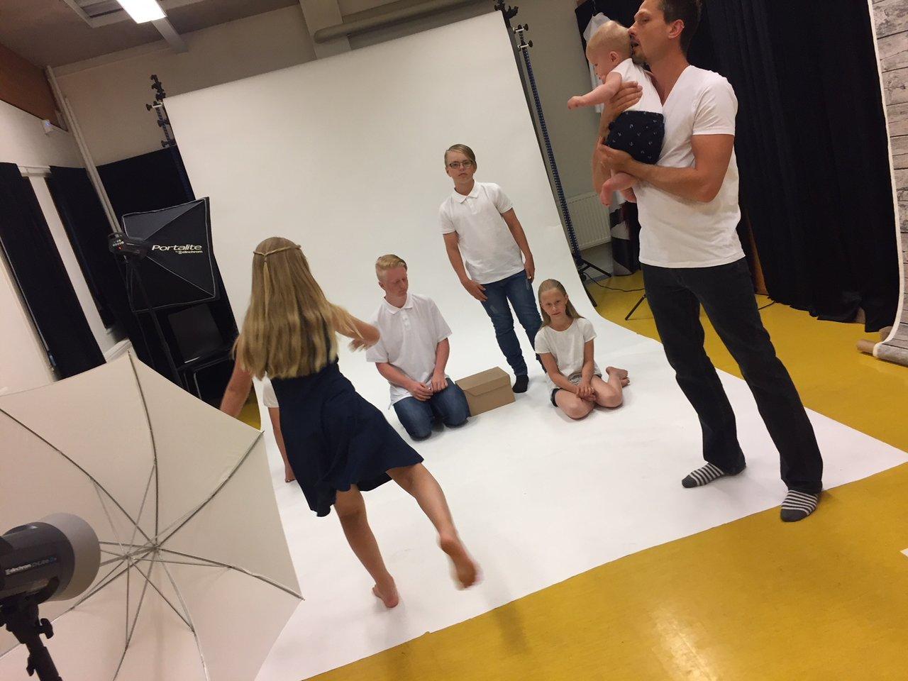 att fotografera barn