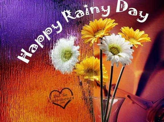 glad regndag