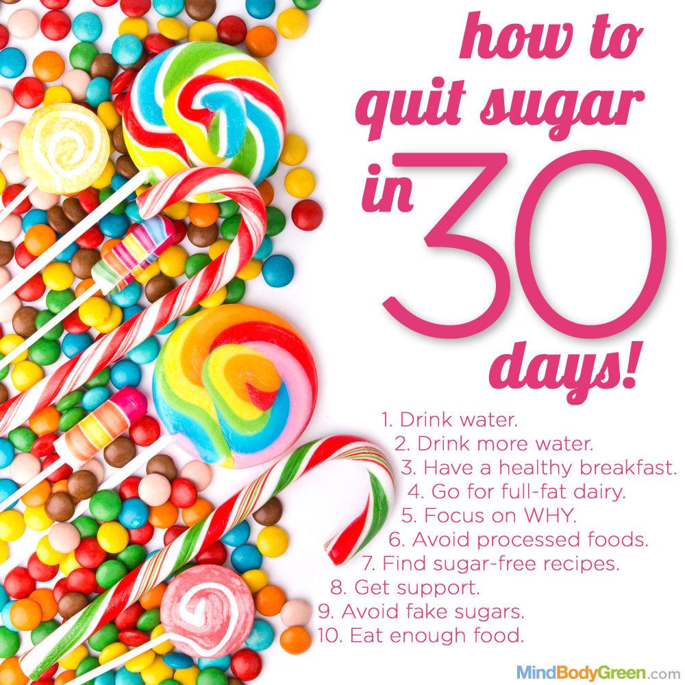 Sluta med socker - Stilsäkert