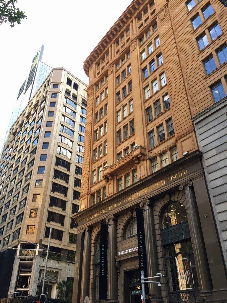 I denna byggnaden låg mitt förra jobb.
