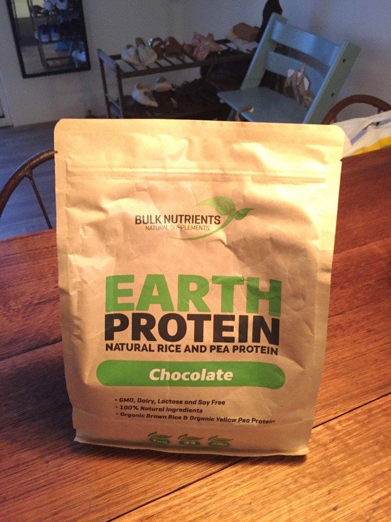 Proteinpulvret hade kommit! Veganskt med låga kolhydrater.
