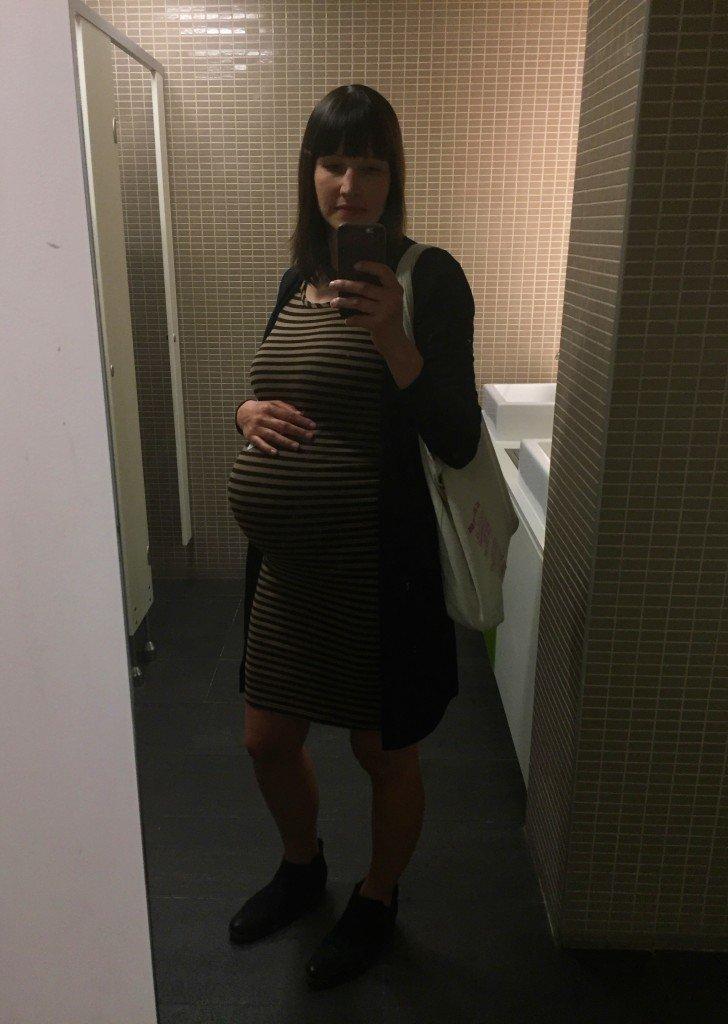Hej, jag är lite gravid! Vecka 33 idag.