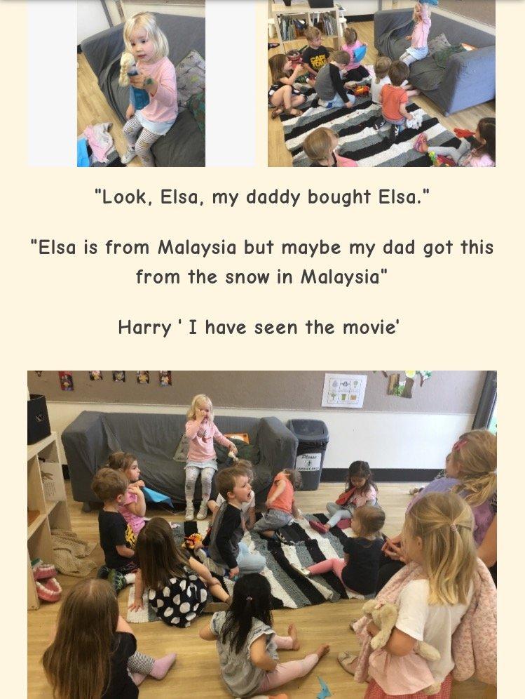 Show&Tell och en treårings syn på saker.