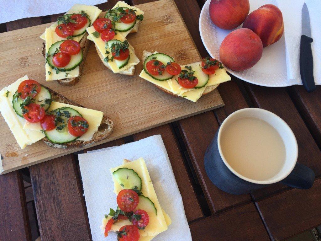 Vad vore väl ett inlägg utan dagens frukost?