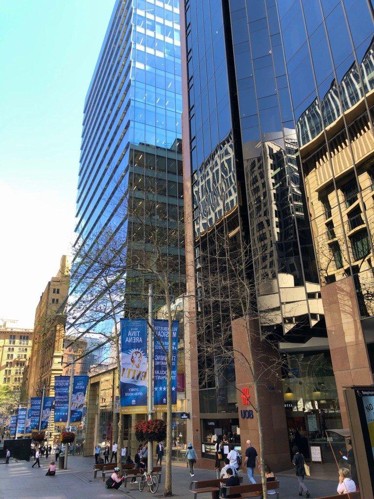Martin Place, Sydney CBD.