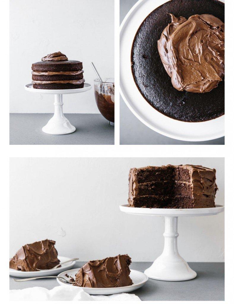 Så här ska tårtan se ut. Får se imorgon om vår version blir lik.