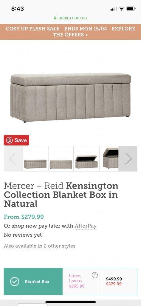 Funderar på att köpa denna till sängändan. OCDn gillar inte att överkastet kastas runt utan att ha någon speciell plats på natten. T fattar inget.