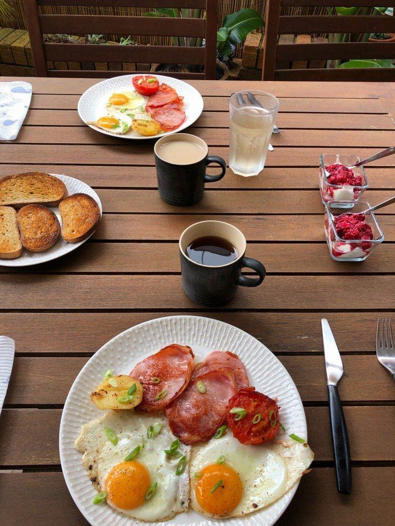 Påskfrukost minus påsk.