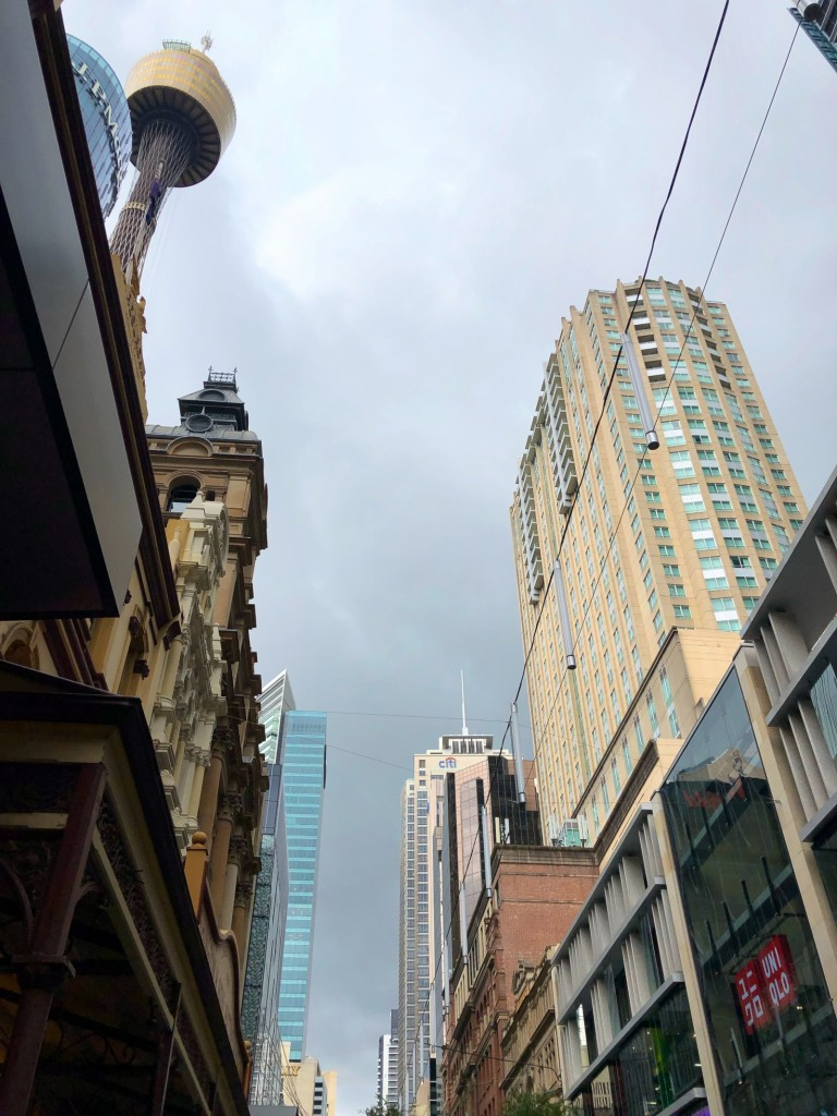 ...till en mulen dag i Sydney.