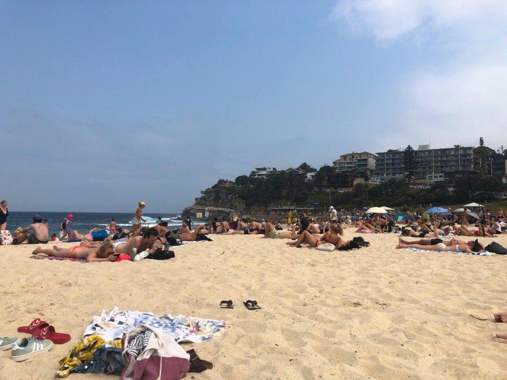 Dagens strand.