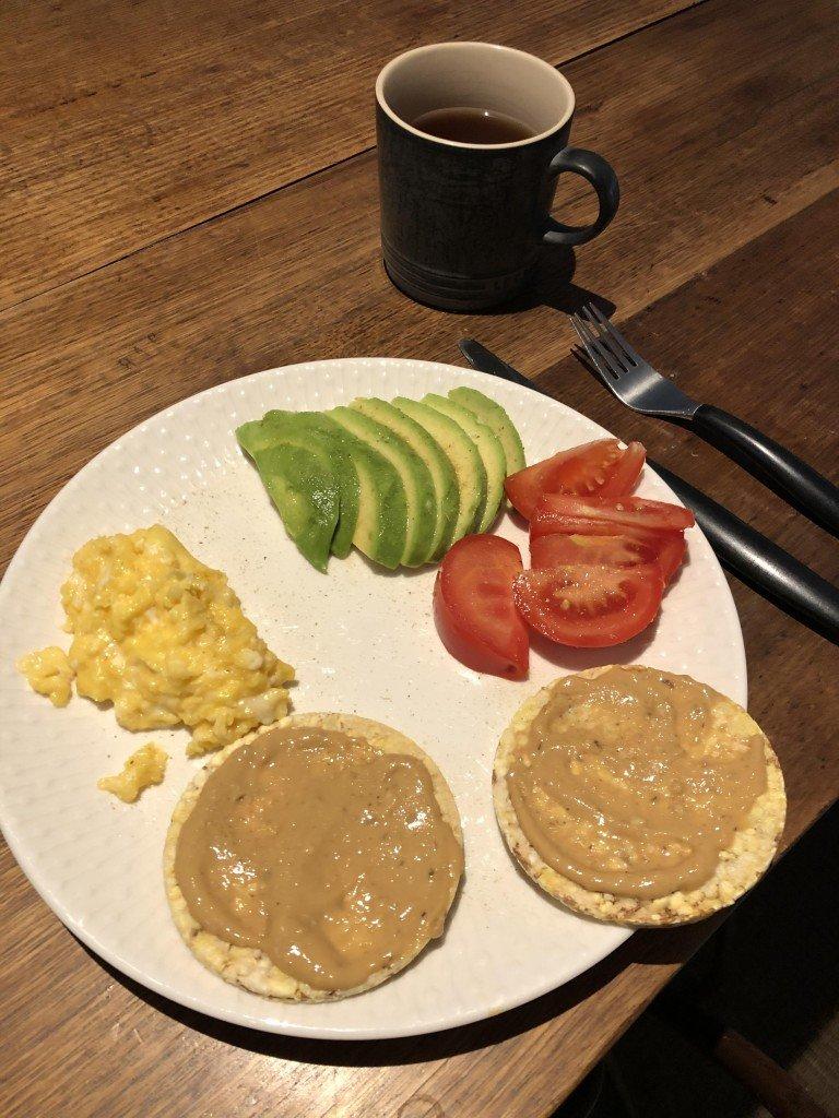 Dagens hälsosamma mat.