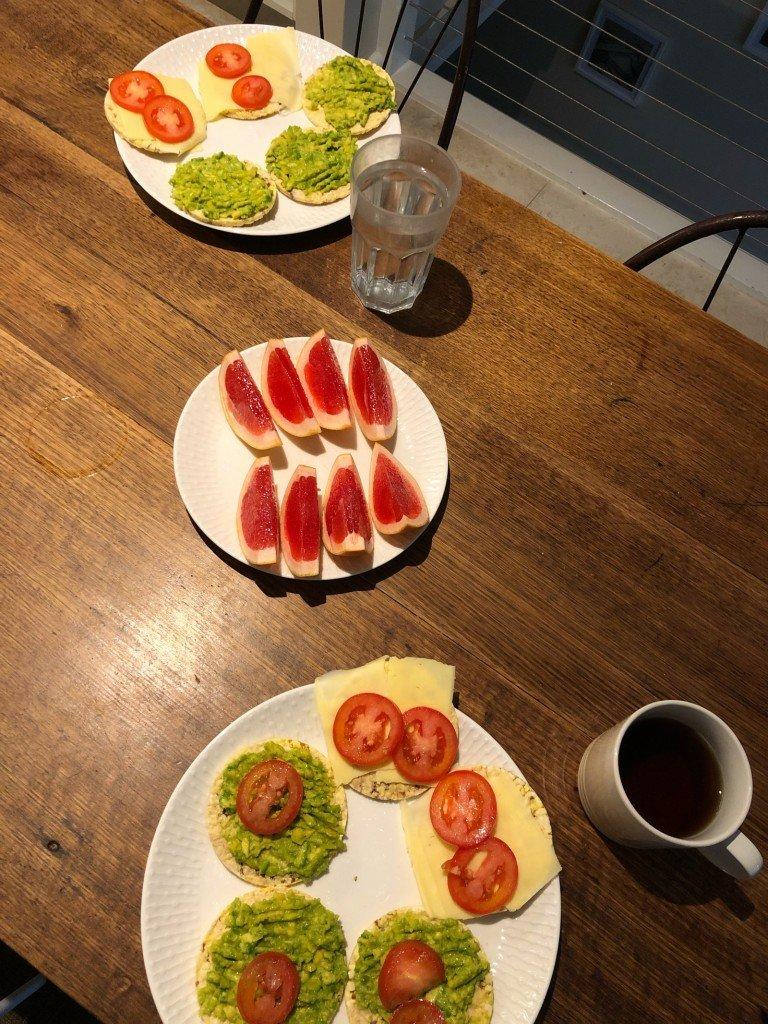 Man kan äta god frukost även på onsdagar.