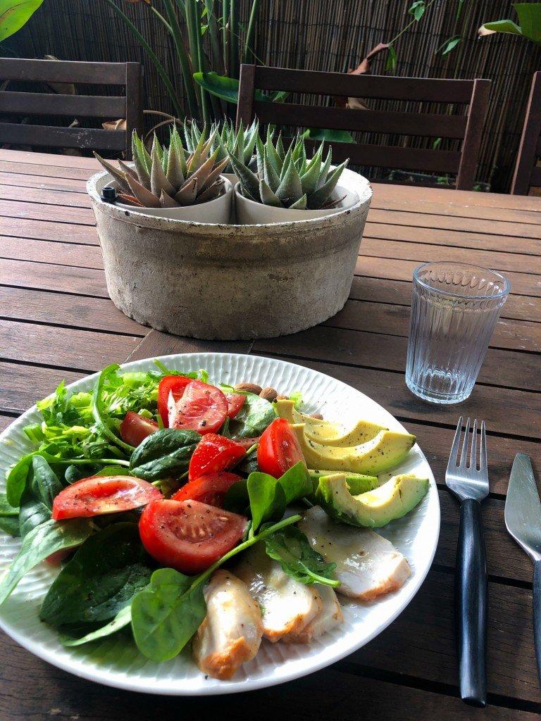 Nyttig lunch.