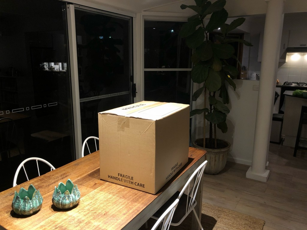 I lådorna var det tanporslin!