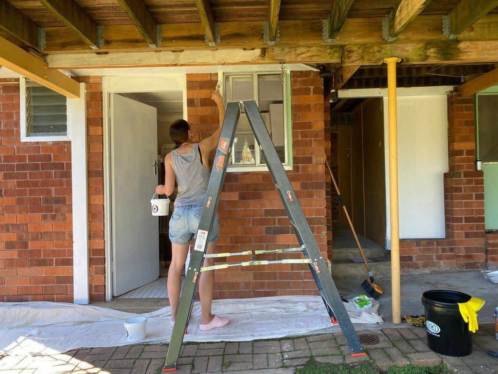 När regler också blir målat, vi har fixat undersidan på altanen etc. etc. så blir det nog bra. Vi avslutade kvällen i Copa.