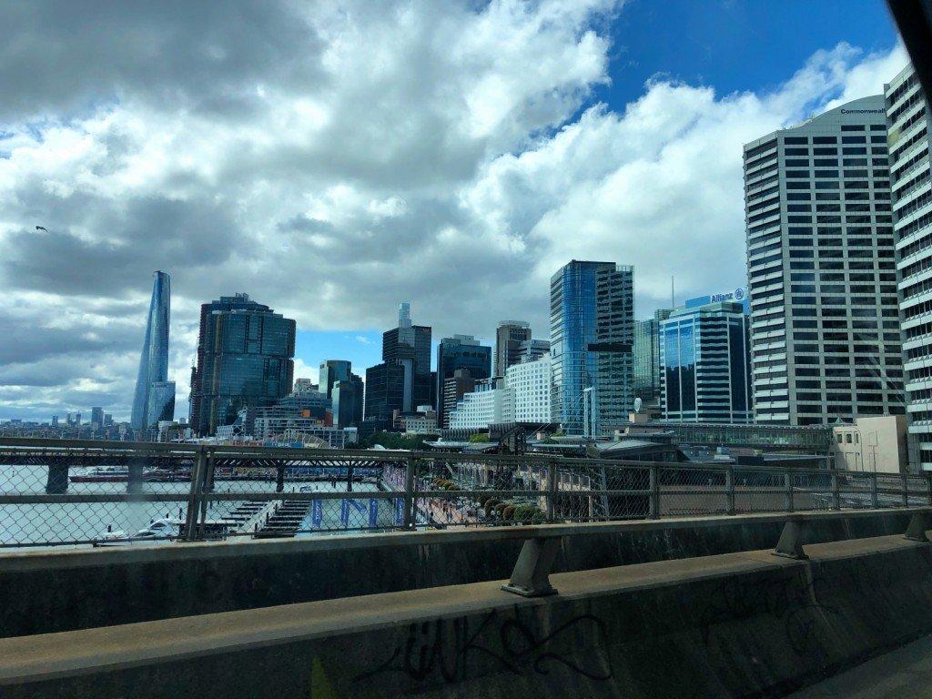 City i förbifarten.