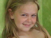 Thea fyller 8 år!