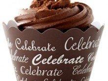 Celebrate (brun), cupcake wraps