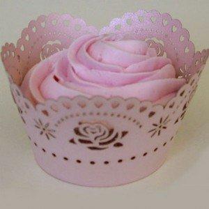 Rose, cupcake wraps