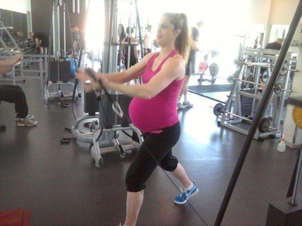 gravidträna