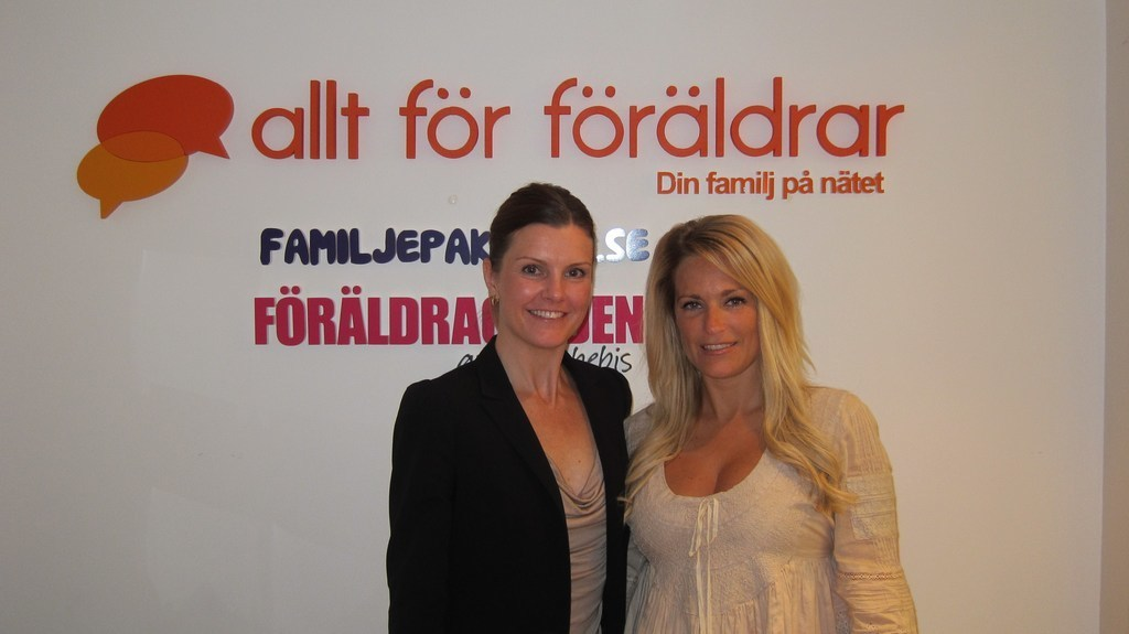 Vår Lena och Laila Bagge Wahlgren