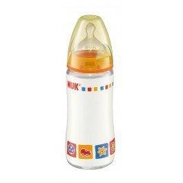 Nappflaska i glas från NUK First Choise 95kr